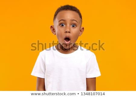 surprised boy stock photo © bigandt