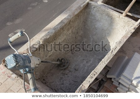 Cement launder Stock photo © ia_64