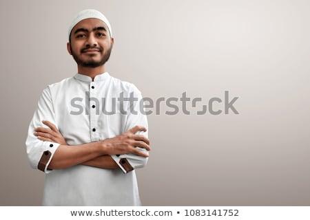 muslim man stock photo © adrenalina