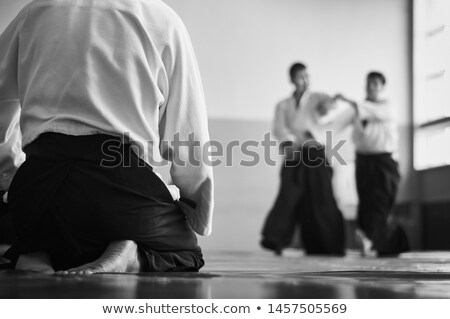 Aikido teacher Stock photo © hsfelix