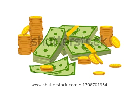 vinte · moeda · isolado · branco · negócio · banco - foto stock © saransk