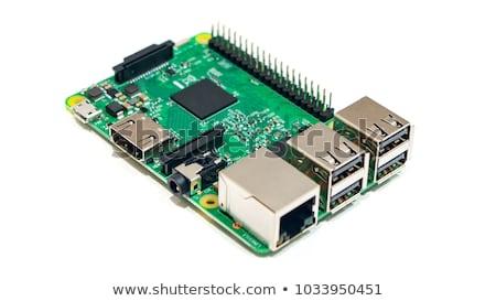 回路基板 · 白 · 電話 · スイッチ · リア · 表示 - ストックフォト © vtls