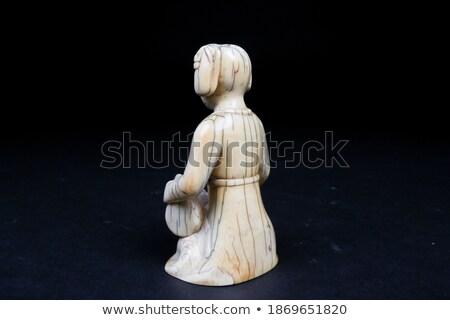 Drummer miniature statuette Stock photo © vtls