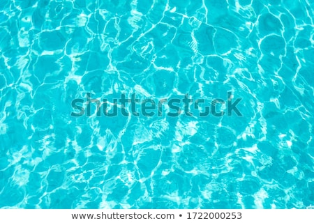 beautiful clear pool water reflecting in the sun Stock photo © master1305