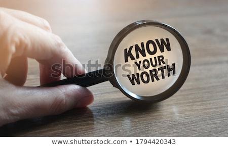 Know How under paper Stock photo © fuzzbones0