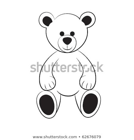 Marriage of white bears Stock photo © adrenalina
