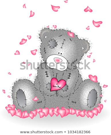 Liefde babe post-it kantoor papier muur Stockfoto © fuzzbones0