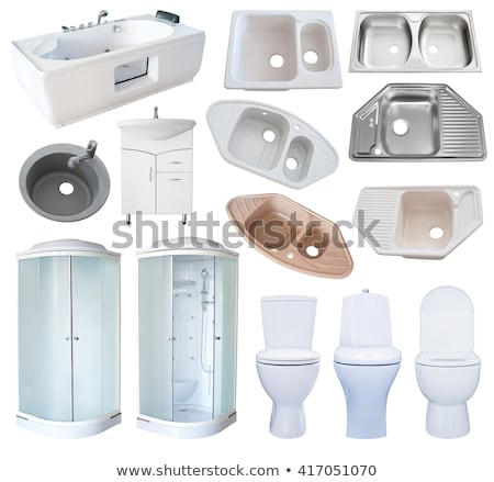 basin isolated over white Stock photo © shutswis