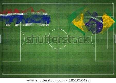Brazylia Gambia flagi puzzle odizolowany biały Zdjęcia stock © Istanbul2009
