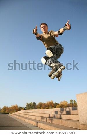 roller jumps 5 Stock photo © Paha_L