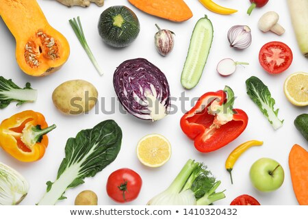 composition with fresh vegetables stock photo © m-studio