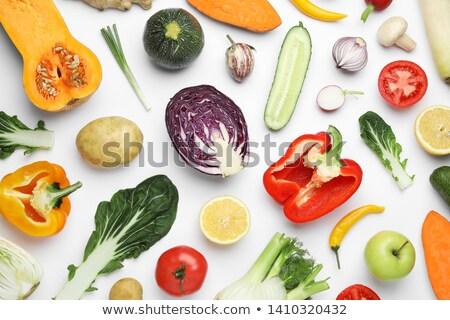 verdure · fresche · greggio · patate · carota · alimentare · salute - foto d'archivio © m-studio