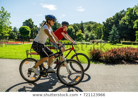 Bicycle rider 2 Stock photo © sifis