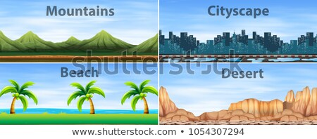 different landforms stock photo © bluering