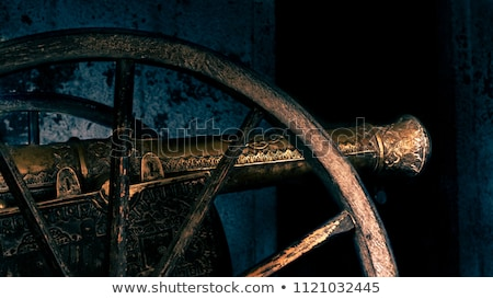 The Historic Cannon Stock photo © user_9834712