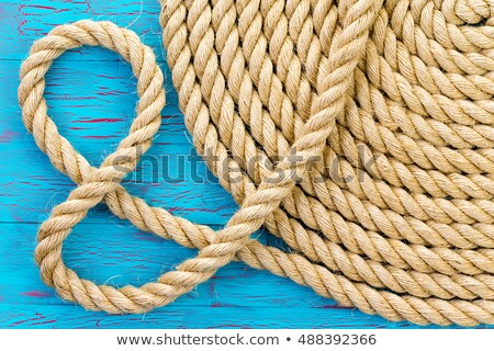 And symbol formed from a new coiled rope Stock photo © ozgur