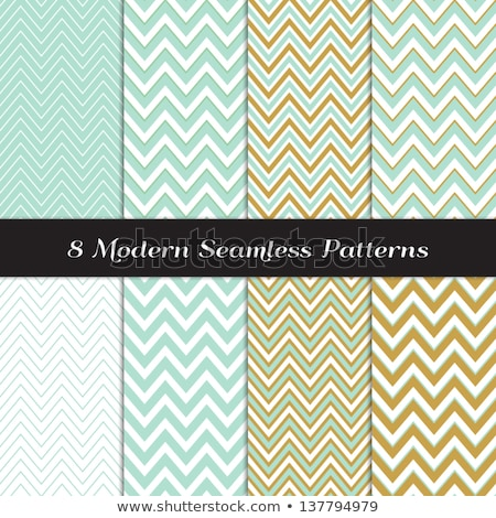 Chevron Pattern. Turquoise Neutral Seamless Pattern for Modern D Stock photo © almagami