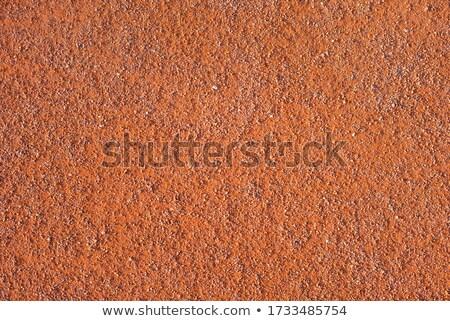 ストックフォト: テニス · 赤 · 粘土 · フィールド · ポール · 純