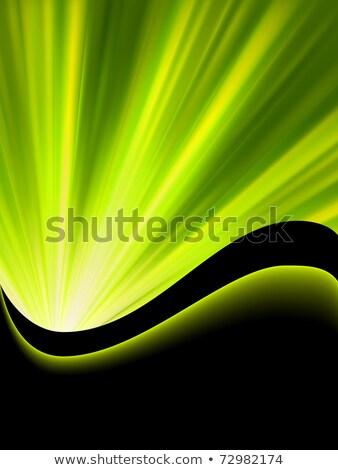Bright blast green tone background. EPS 8 Stock photo © beholdereye