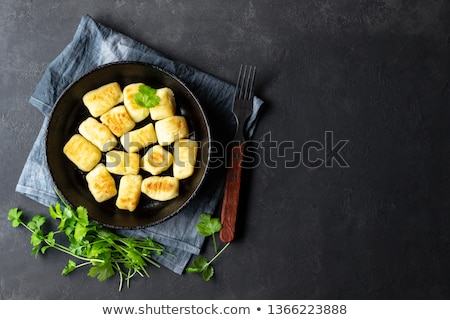 Stock photo: Cooked Potato Gnocchi