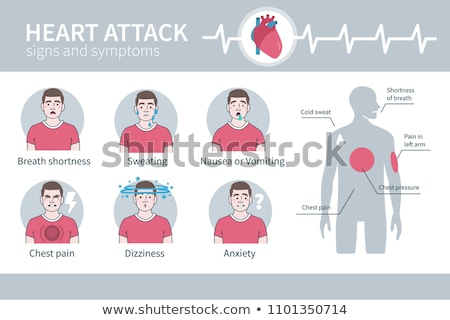 Artery disease, Atherosclerosis, Stroke and Heart attack Stock photo © Tefi