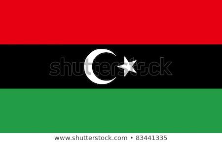 Flag of Libya Stock photo © bestmoose