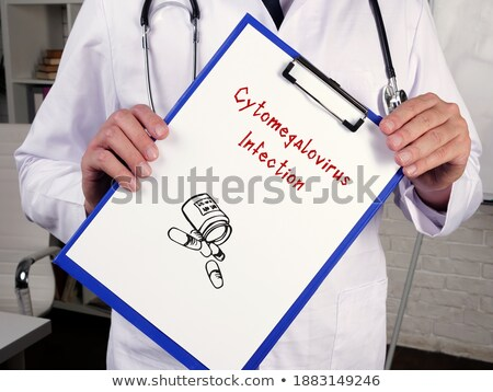 Cytomegalovirus. Medical Concept. Stock photo © tashatuvango