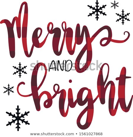 awesome bright merry christmas festival background Stock photo © SArts