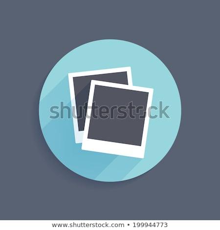 öreg stílus nyíl ikon klasszikus interfész Stock fotó © studioworkstock