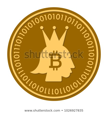 Kroon digitale valuta pictogram symbool element Stockfoto © tashatuvango