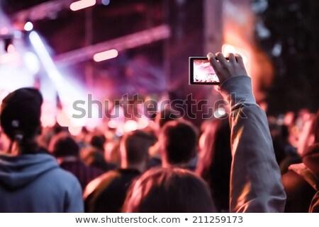 Close-up of camera and smartphone Stock photo © wavebreak_media