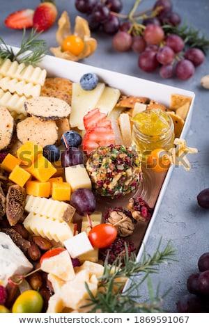 куб · сыра · продовольствие · молоко · цвета · завтрак - Сток-фото © robuart