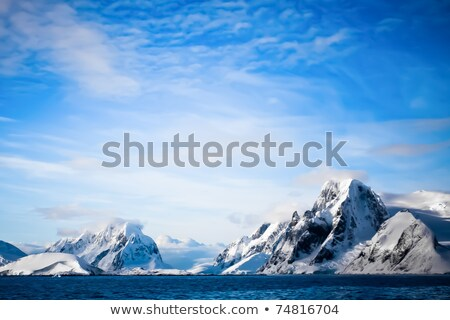Glacial Ice in the Mountains Stock photo © wildnerdpix