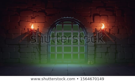 large castle background scene stock photo © bluering
