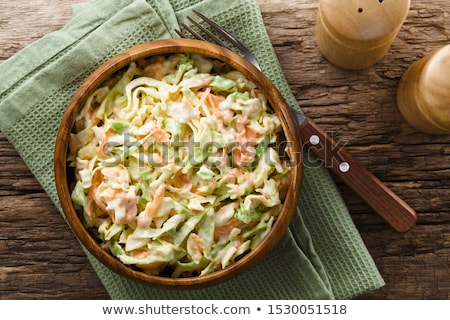 salada · de · repolho · repolho · tradicional · americano · salada · cenoura - foto stock © furmanphoto