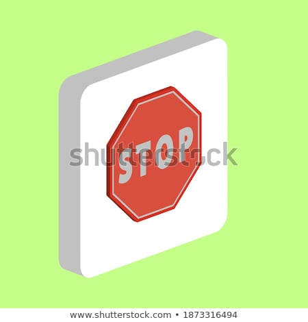 law color outline isometric icons stock photo © netkov1
