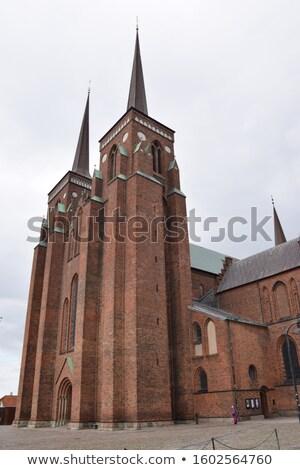 собора · Дания · Церкви · первый · Готский · кирпичных - Сток-фото © borisb17