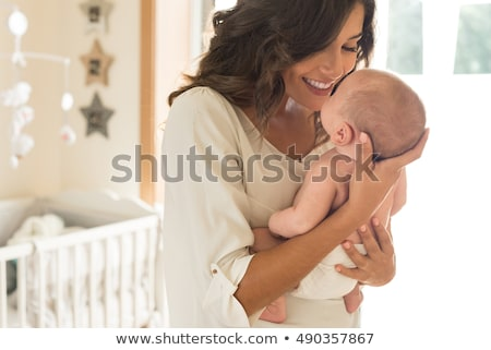 portret · moeder · baby · vrouw · familie - stockfoto © lopolo