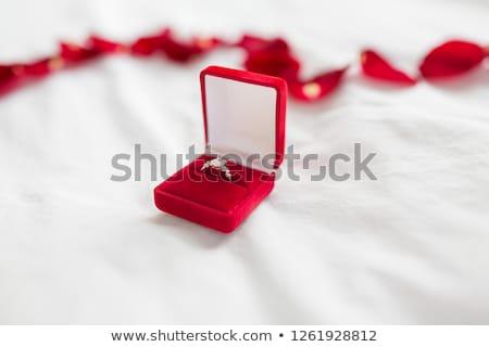 elmas · yüzük · sevgililer · günü · örnek · kadın · sevmek · hediye - stok fotoğraf © dolgachov
