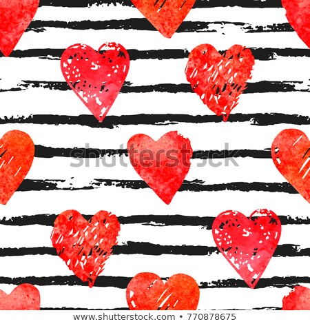 Happy Valentine's Day vector fill Stock photo © barsrsind