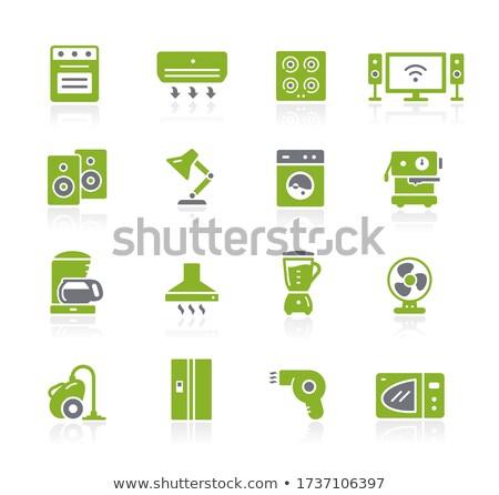 Household Appliances Icons // Natura Series Stock photo © Palsur