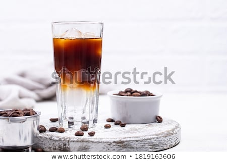 Espresso tonic, trendy coffee drink Stock photo © furmanphoto