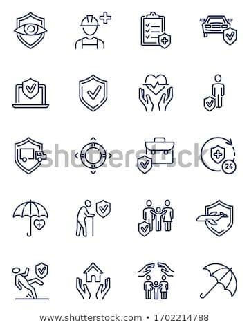 Segurança agência propriedade vetor Foto stock © pikepicture