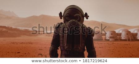чужеродные планеты Мир человека Сток-фото © Harveysart