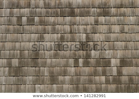 古い木材 タイル張りの 屋根 家 建設 ホーム ストックフォト © dutourdumonde