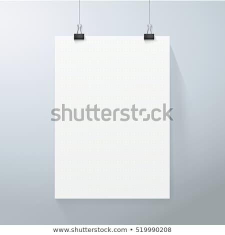 vektor · papírok · hely · tartalom · zöld · absztrakt - stock fotó © orson