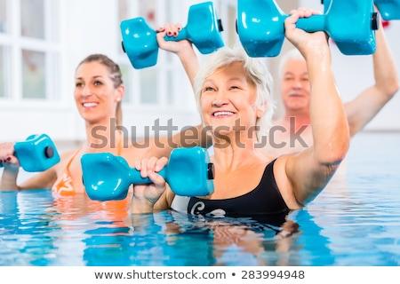 sport · coach · senior · vrouw · werk - stockfoto © photography33