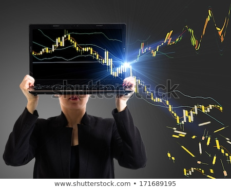 Stock market - explosion effect Stock photo © bbbar