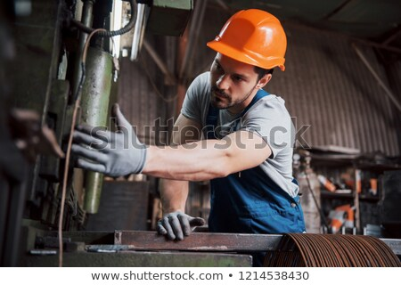 Young builder recycling Stock photo © photography33