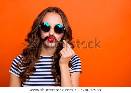Eccentric brunette Stock photo © photography33
